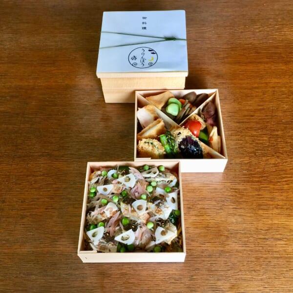 季節のちらし寿司弁当