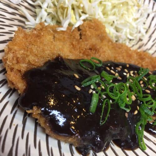 八幡平ポークの味噌カツ